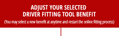 Adjust Your Selected Driver Fitting Tool Benefit